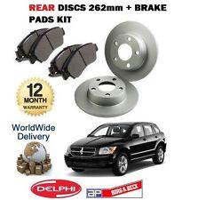 für Dodge Caliber 1.8 2.0DT 2.4 2006> HINTEN 262mm Bremsscheiben+Bremsbeläge Set