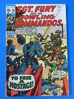 SGT FURY AND HIS HOWLING COMMANDOS #80 ~ 1970 MARVEL BRONZE AGE COMIC BOOK ~ FN+