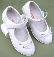 Spring Faux Leather Medium Width Shoes for Girls