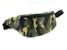 Camouflage Camo Print Bum Bag Fanny Pack Money Pouch Canvas Festival Holiday