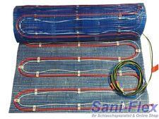 Fußbodenheizung: Kombi aus Warmwasser UND Elektro, bis 10m², Regler optional