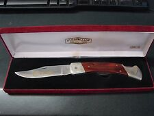 "Vintage Savage Arms Camillus  Knife / presentation box Made in USA  5"" closed"