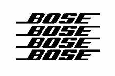 "X4 ""BOSE"" FUNNY PANEL BUMPER STICKERS  VW T5 T6 T4 WINDOW GOLF LUPO GOLF"