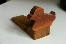 Wooden Vintage Style Duck Door Stop