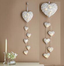 lumière LED pendant Cœurs lampes murales Amour Romantique LAMPE conte de fée