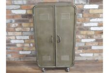 Industrial Metal 2 Door Wheeled Storage Cabinet