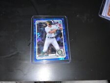 TYLER SODERSTROM~2020 Bowman Draft Chrome Sapphire Edition Top Prospect~A's