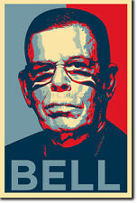 ART BELL PHOTO PRINT POSTER GIFT (OBAMA HOPE STYLE) RADIO COAST TO DREAMLAND
