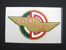 DUCATI bevel single tank decal Ducati meccanica new