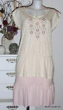 ESPRIT Bluse Long Shirt Größe size XL 42 Tunika Carmen Baumwolle white weiß
