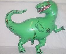 40 Inch Green Dinosaur Shaped Foil Balloon (CS44)