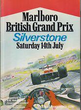 1979 Program FIA F-1 British Grand Prix Silverstone with Autosport Guide