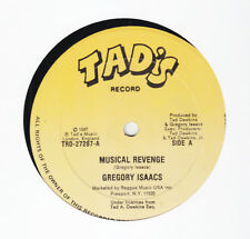 GREGORY ISAACS - MUSICAL REVENGE -TAD'S - CLASSIC 80s REGGAE 12""