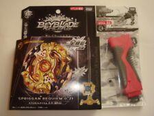 B - 00 Sprigan Requiem. 0. Zt Gold Ax Ver. Rubber Launcher Grip Red Next Gen.