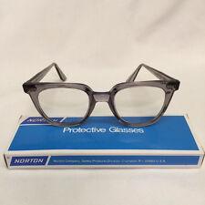Vintage Norton Safety Glasses Steampunk Tart Arnel Style 2850 w/Poly Lenses