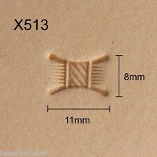 Punziereisen, Lederstempel, Punzierstempel, Leather Stamp, X513