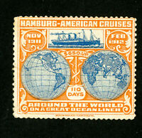 Germany Stamps Shipping Label over 100 Years Old