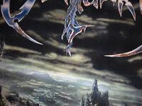 Obituary Import Shirt Gildan Death Metal Monstrosity Medium Siebdruck !!!!