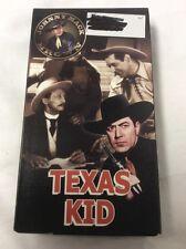 Texas Kid Johnny Mack Brown VHS