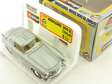 Bburago 0122 Burago Mercedes 300 SL silber 1954 1:24 OVP 1603-05-60