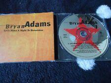 Bryan Adams ,Cd Single, Let'S Make A Night To Remember,Rock,Pop,Promo