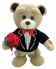 """NEW Chantilly Lane """"Tuxedo Teddy"""" Sings """"How Sweet It Is To Be Loved by You"""""""
