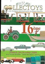 Catalogue vente aux enchères Collectoys Jouets anciens Hôtel Hornby Bourges E12