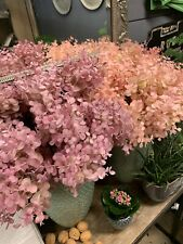 Eucalyptus künstlich Bund (3Stk) Rosa 40cm Dekoration Hochzeit Superecht