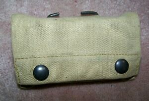 WW1 1ST AID POUCH, 1918 DATED, U.S. ISSUE *NICE*