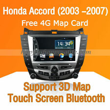 Car Multimedia Player for Honda Accord 2003 -2007 DVD GPS Navigaiton Radio