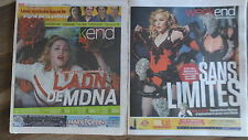 MADONNA  *REBEL HEART + MDNA* TOUR* MONTREAL WEEK-END* 2012 + 2015 VERY RARE