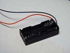 Batteriehalter für 2x Micro (AAA) mit Anschlußkabeln