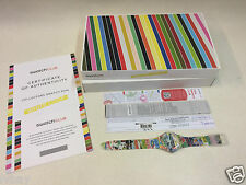 Swatch White Loop SUOZ170 The Story. Limited Edition Rare Swatch Club