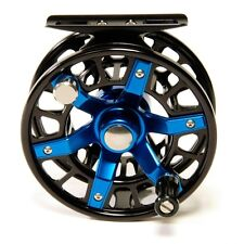 Galvan spoke s-3 Light tackle fly reel-mouches rôle - #2 3 4-Black/Blue
