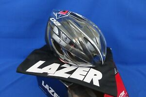 New Lazer O2 Deluxe Cycling Bike Helmet - Small, 52-56cm - Black + Extras!