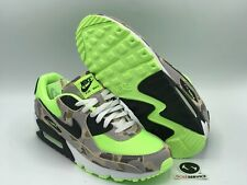 "Nike Air Max 90 ""Green Camo"" Size 9.5 CW4039-300 FREE SHIPPING"