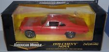 1/18 ERTL 1970 CHEVROLET NOVA 396 ORANGE bd