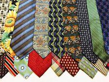 50 DIOR PERRY ELLIS TOMMY HILFIGER VAN HEUSEN Wholesale Men's NECK TIES LOT Tie