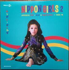 NIPPON GIRLS VOL 2 60s Japanese Pop, Beat & Rock'n'Roll 1966-1970 MINT SEALED ►♬