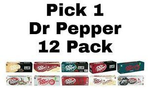 Pick 1 Dr Pepper Soda Pop 12 Pack