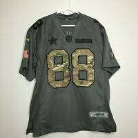 Men's Nike Dallas Cowboys Dez Bryant 88 Salute Military Jersey Large Football