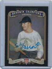 Stan Musial signed 2012 Goodwin Champions Cardinals auto baseball card (STM COA)