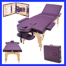 Massage Imperial® Lightweight Purple Portable Massage Table Couch Beauty Reiki