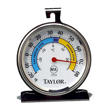 Taylor Precision Classic Dial Freezer/Refrigerator Thermometer - 5924