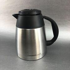 Starbucks Barista Quattro BA4 Carafe Coffee Pot Stainless Steel Thermal 4 Cups