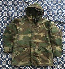 VTG 1992 Dated US Army USMC Gore Tex Camouflage Cold Weather Parka Jacket Large