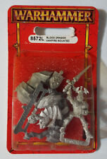 GW Warhammer Vampire Counts Blood Dragon Vampire Mounted 8572L 1997 - METAL OOP