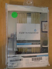 """CURTAINWORKS SOHO VOILE ONE POLE TO PANEL / POLE TOP 59"""" w X 84"""" L  *NEW*"""