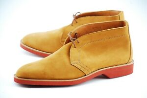NEW | TRICKERS X BRUNELLO CUCCINELLI 11UK 12D SUEDE UNLINED CHUKKA BOOTS