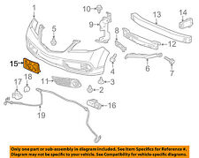 Acura HONDA OEM 13-16 RDX-License Plate Bracket Mount Holder 71145TX4A00
